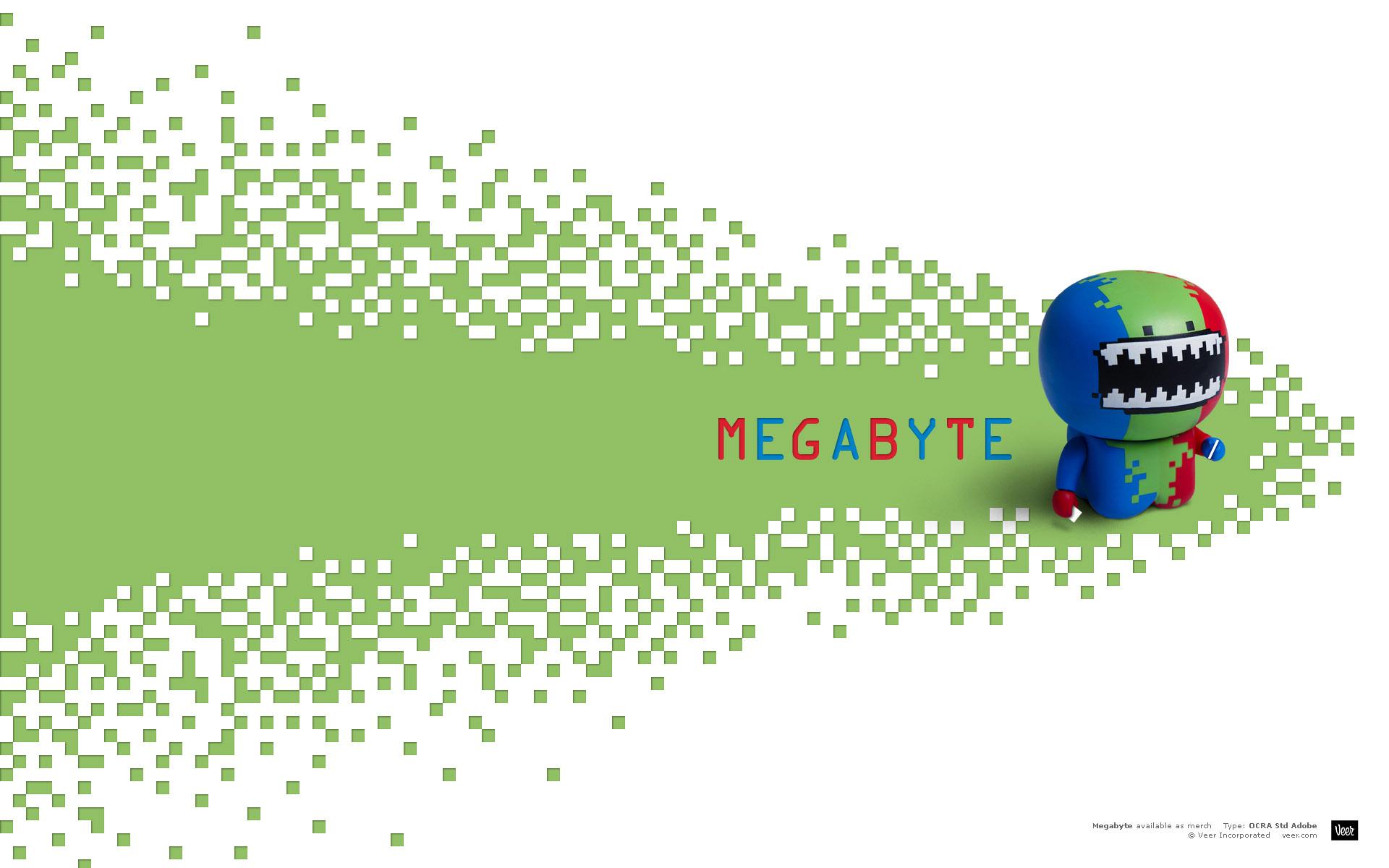 Картинка Картинка мегабайт - Картинки 3D-Графика - Бесплатные картинки для рабочего стола
