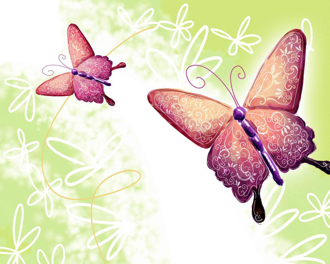 Бабочка картинка для открытки 5