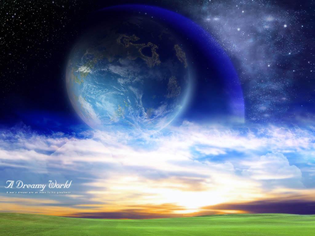 Картинка 3D поле с видом на другую ...: pictar.ru/img-3d-pole-s-vidom-na-druguyu-planetu-26246.htm