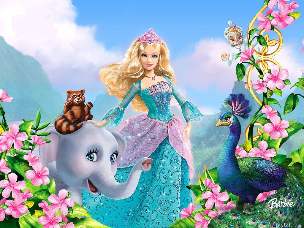 Мультфильмы онлайн барби принцесса