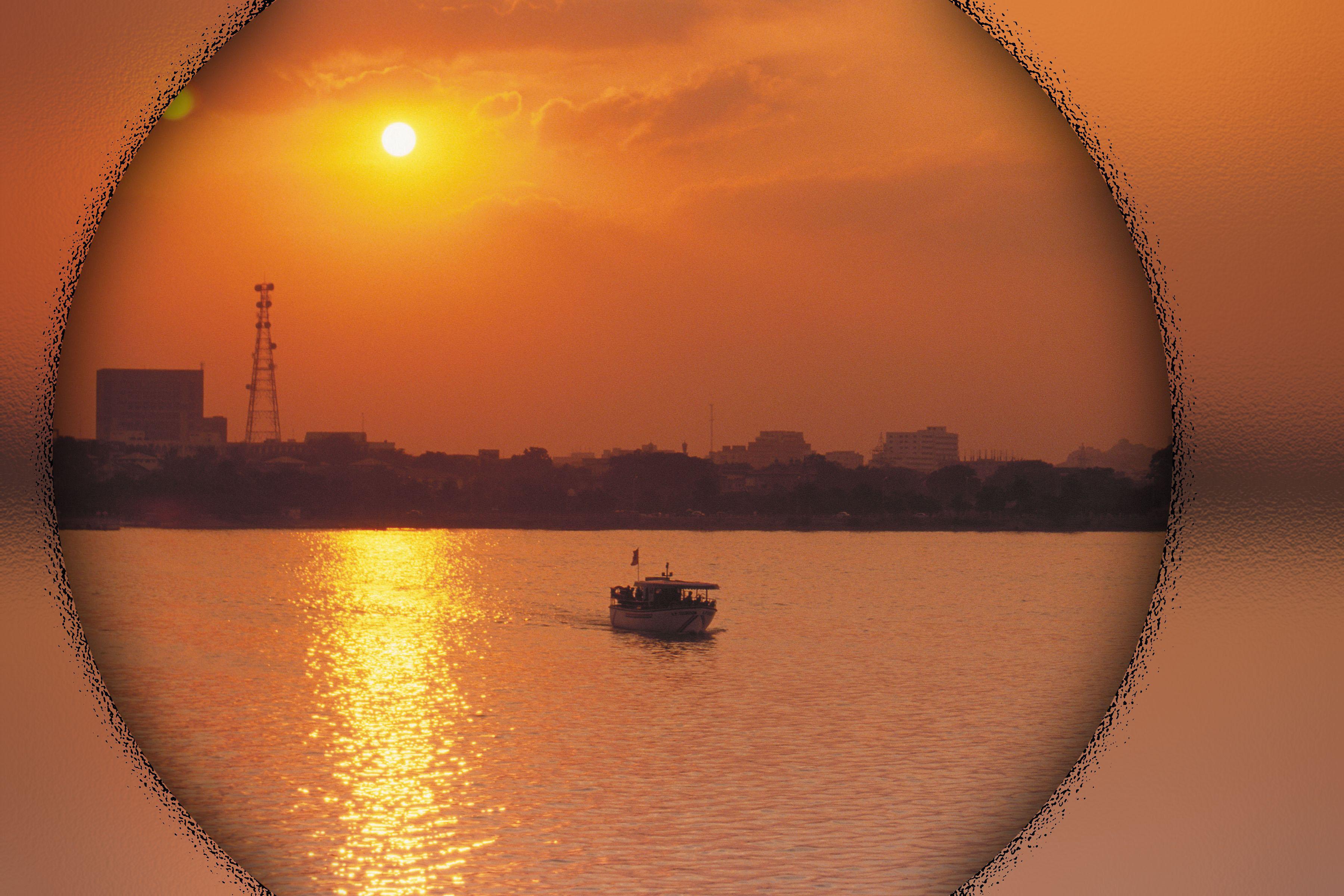 Романтический фон для фотографии закат 2