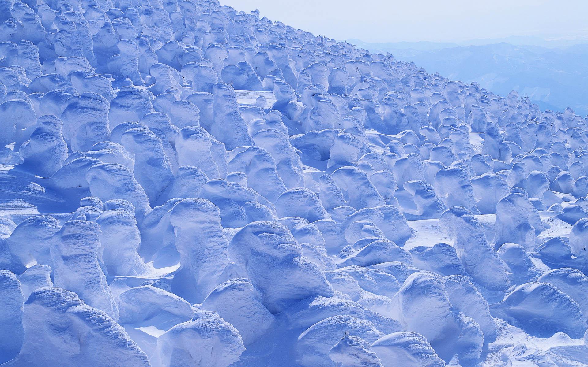 Необычный зимний снег картинки зима
