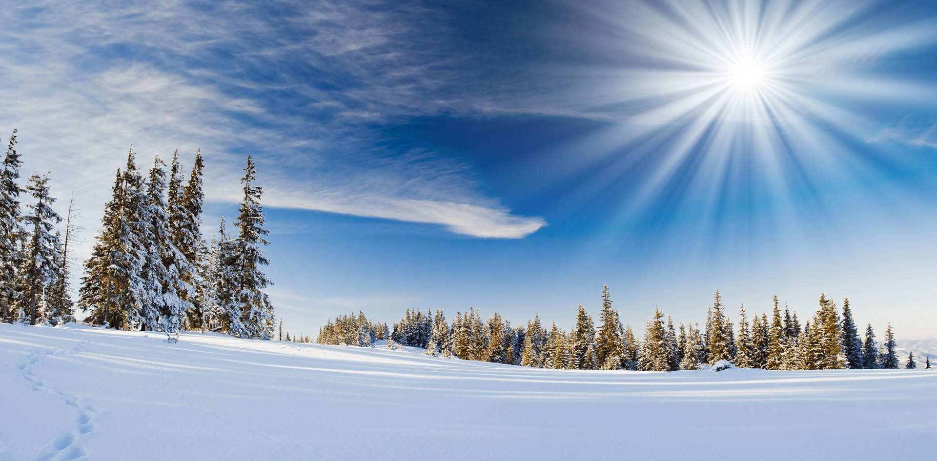 Небо зимой