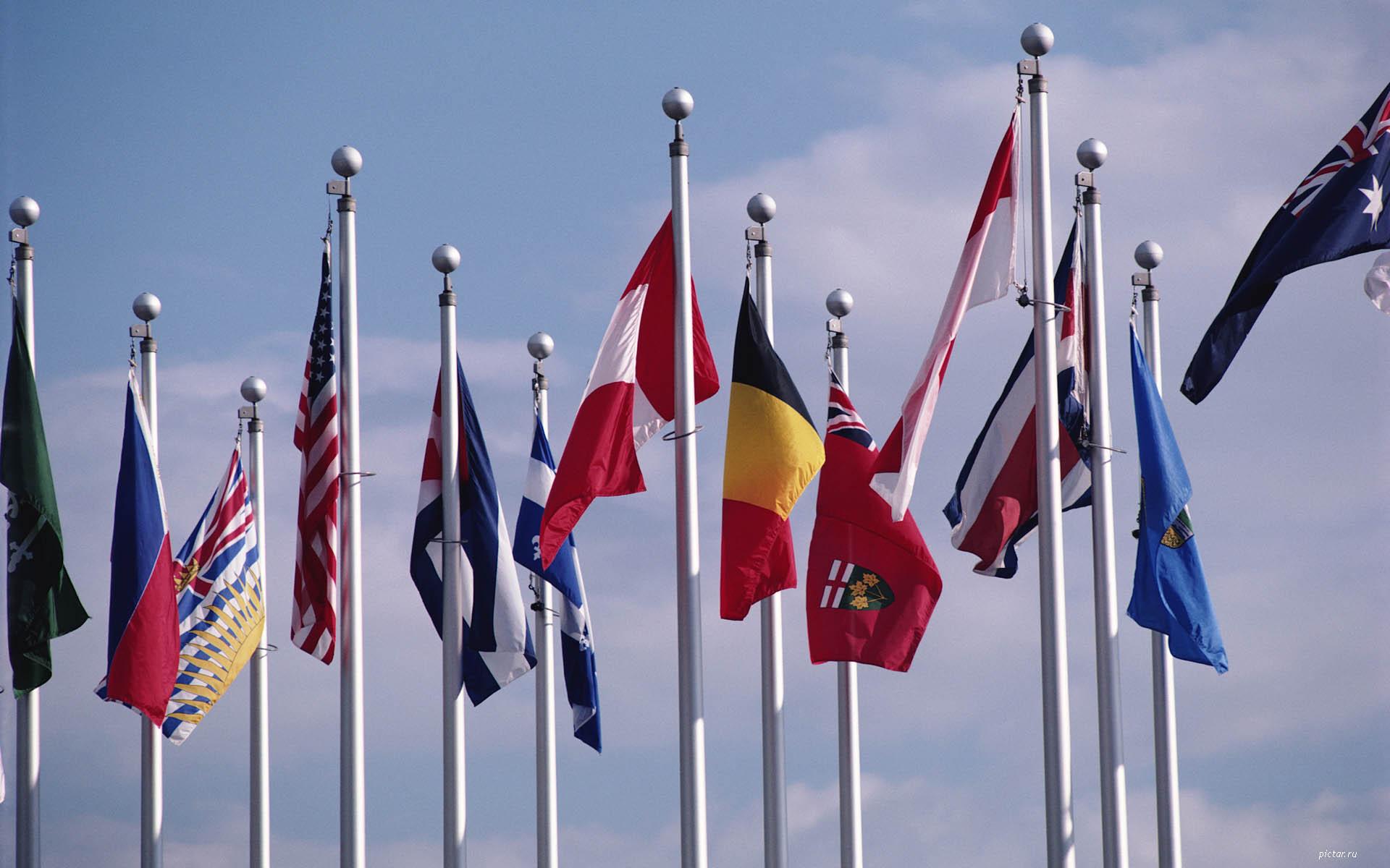 Флаги стран мира картинки флаги
