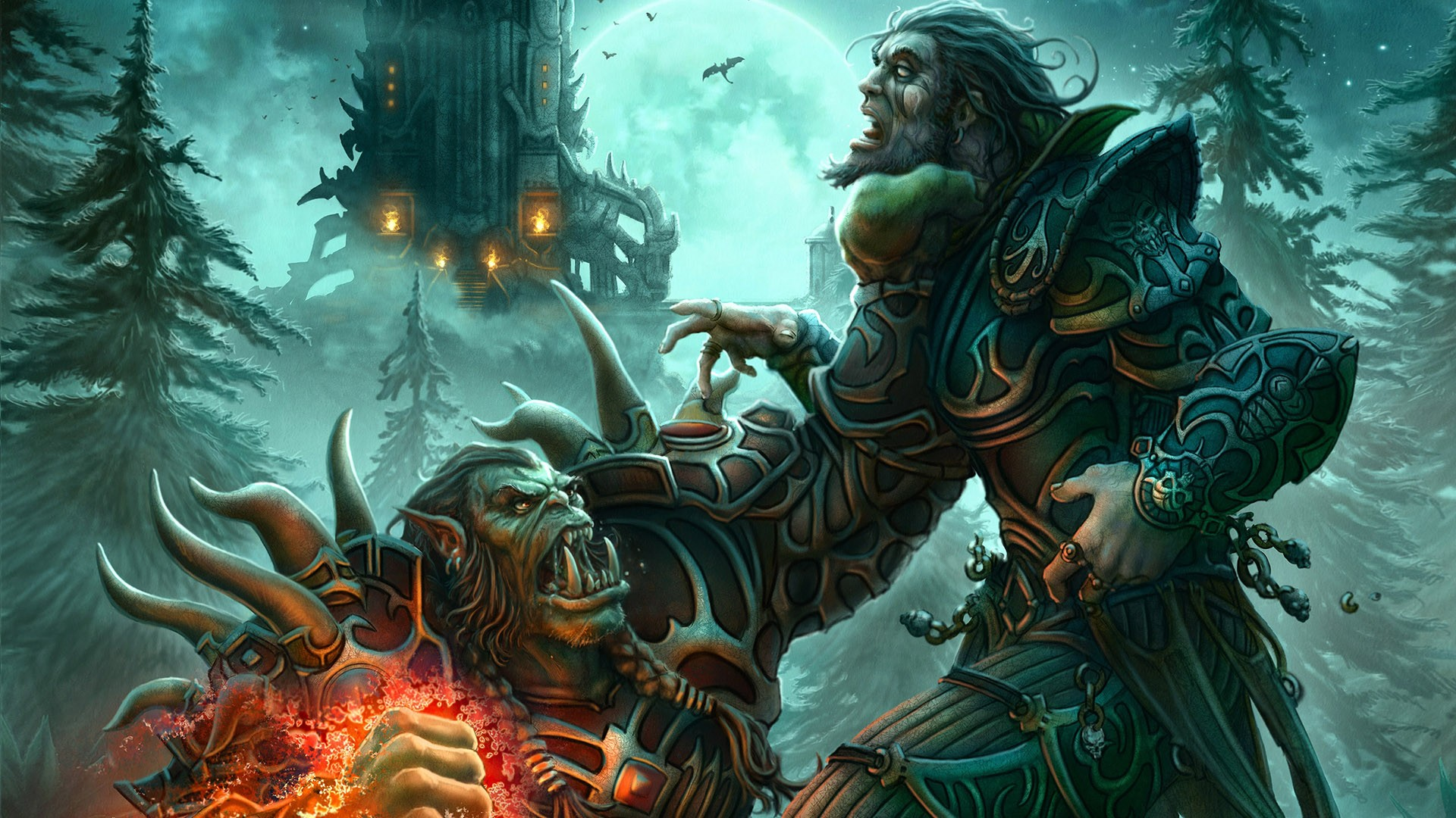 Orc or troll for hunter anime clips