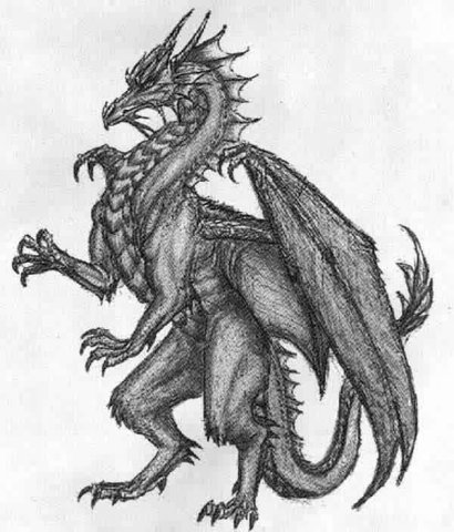 Картинка нарисованный дракон ...: pictar.ru/img-narisovannyy-drakon-karandashom-42508.htm
